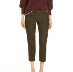 Side Stripe Stretch Flannel Pants